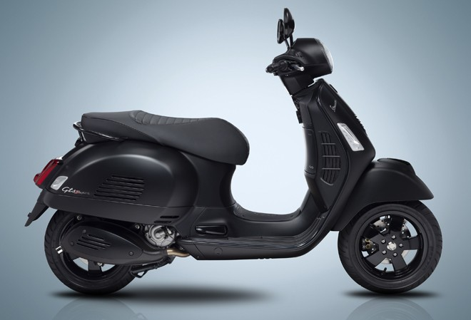 Introducing the Limited Edition  Vespa Notte