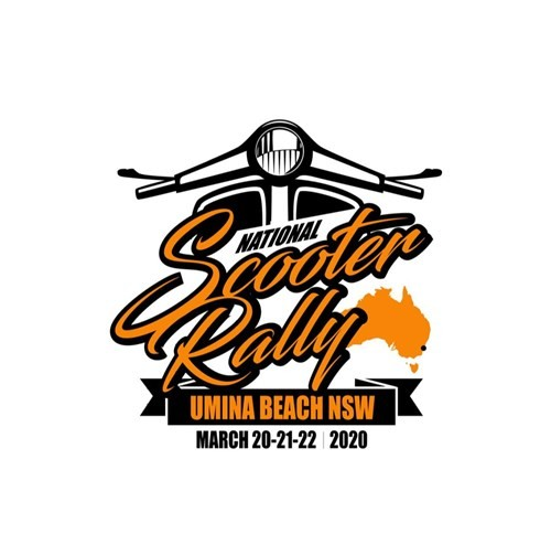 National Scooter Rally in Umina March 2020