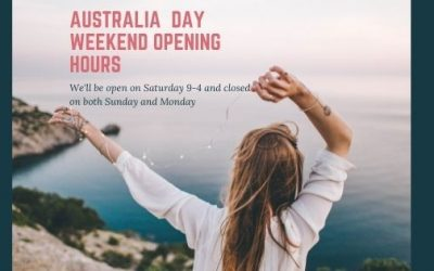Australia Day Weekend Opening Hours