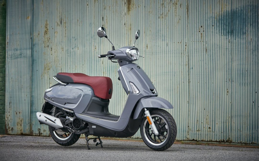 NEW Kymco Like 150i Model Coming This April