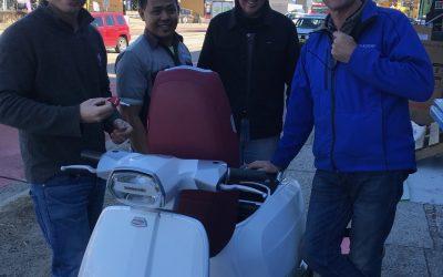 Just Arrived –  Modern Lambrettas