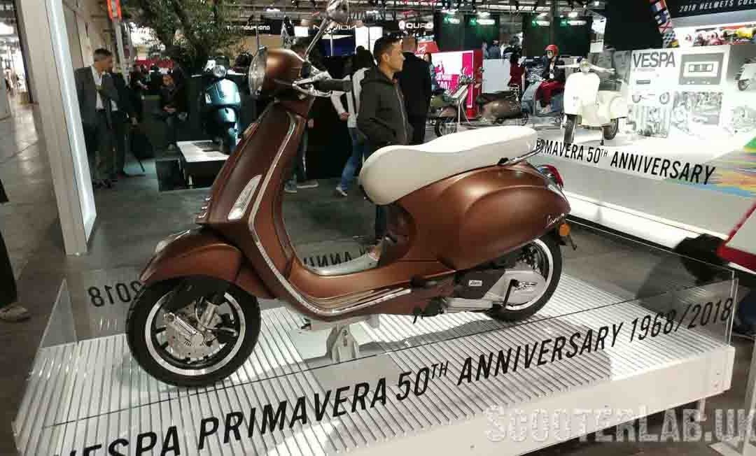 50th Vespa Primavera Anniversary Model