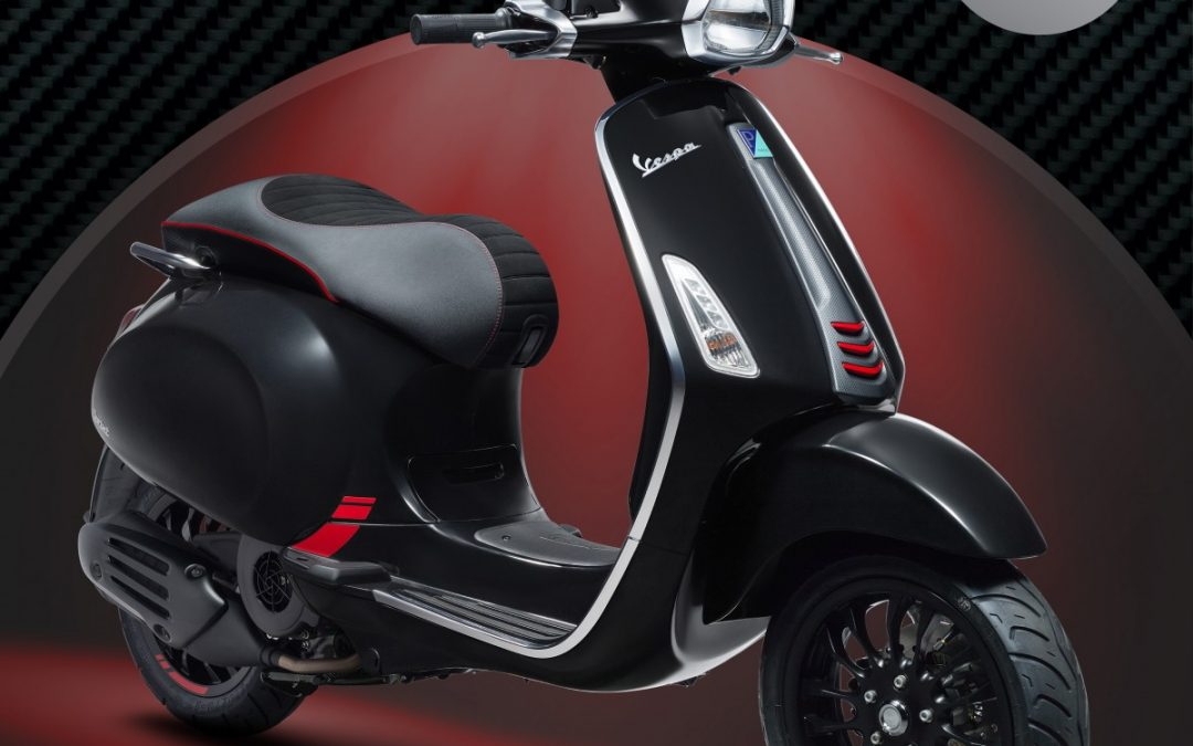 NEW Limited Release Vespa Sprint Carbon